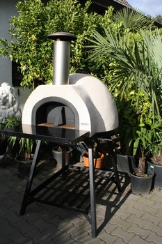 Amalfi Mediterranean portable oven 70 Black Front
