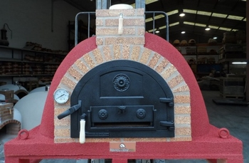 Pizzaoven Traditional Brick 120/80 3 kleuren