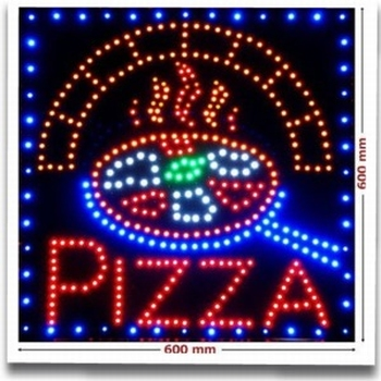 LED Reclame pizza