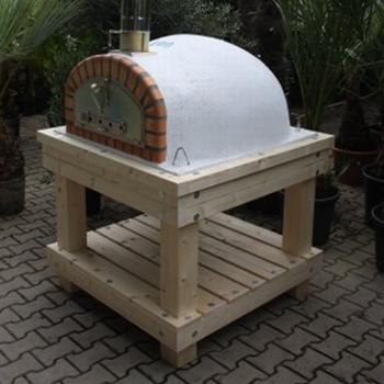 Robuust houten onderstel voor ovenmaat 100cm UITVERKOCHT!
