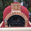 Pizzaoven Traditional brick 100/70 Nieuw model!